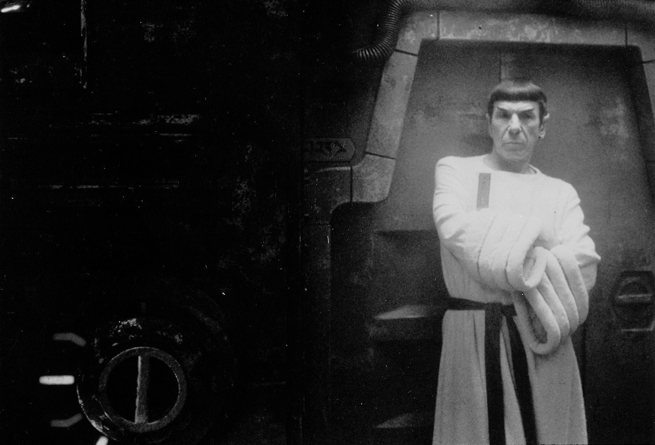 Leonard Nimoy at The Voyage Home