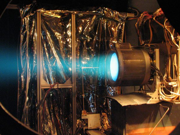 T6_ion_thruster_firing